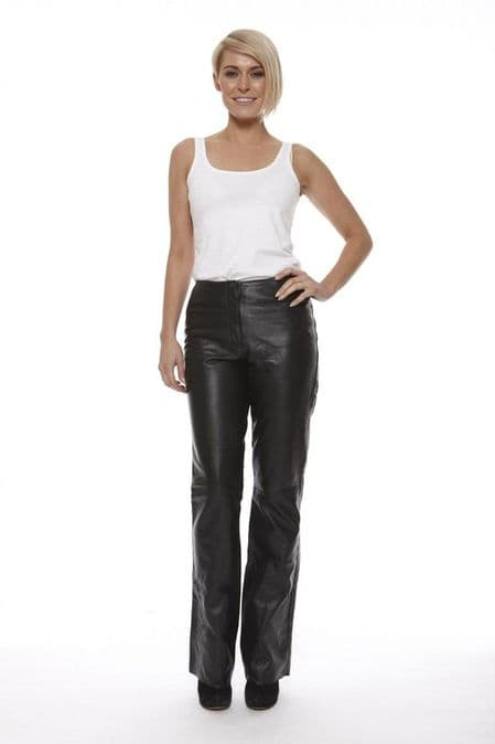 Womens Leather Trousers
